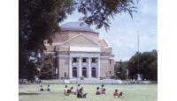 清华大学校园风景